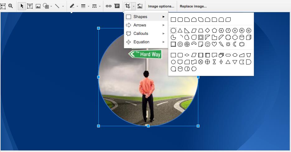 Google Slides - Mask Image