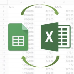 Google Excel Spreadsheet Exchange Data