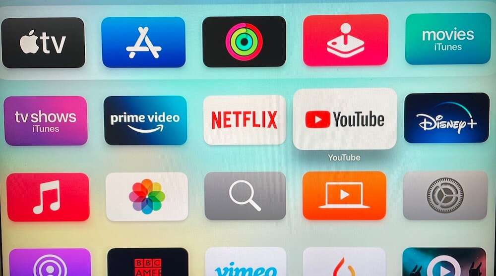 Apple TV's Wrapped Apps